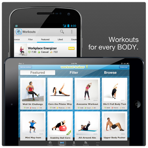Workout Trainer by Skimble - Top Free Fitness App coached by